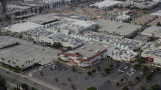 AX0157_064 - 8K stock footage aerial video of Northridge Shopping Mall in Northridge, California