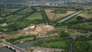 United Kingdom Aerial Stock Photos