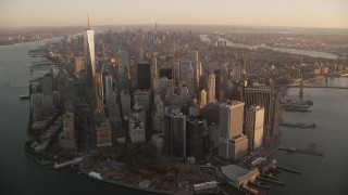 New York Aerial Stock Footage