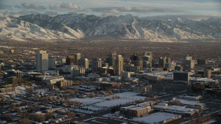 Salt Lake City, UT Aerial Stock Photos