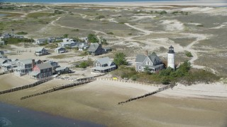Cape Cod, MA Aerial Stock Footage