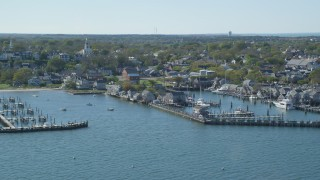 Nantucket, MA Aerial Stock Footage