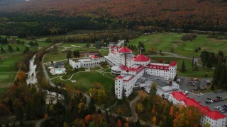 Hotels Aerial Stock Photos