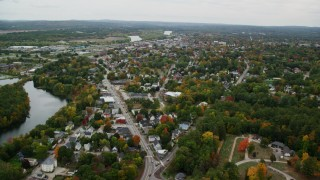 Concord, NH Aerial Stock Footage