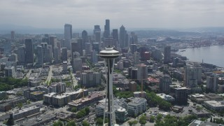 Seattle, WA Aerial Stock Footage
