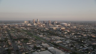 New Orleans, LA Aerial Stock Footage