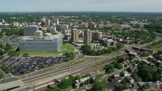 Trenton, NJ Aerial Stock Footage