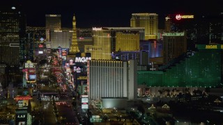 Las Vegas, NV Aerial Stock Footage