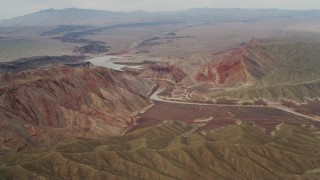 DCA04_059 - 4K stock footage aerial video of the Colorado River, Grand Canyon, Arizona
