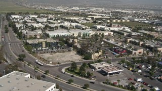 DCA08_092 - 4K stock footage aerial video of office buildings in Otay Mesa, California