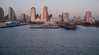 San Diego, CA Aerial Stock Footage