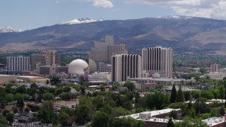 Reno, Nevada Aerial Stock Footage