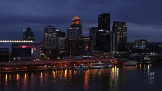 Louisville, KY Aerial Stock Footage