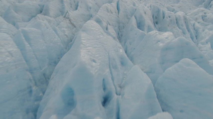 4K stock footage aerial video a closeup view of a glacier in Prince William Sound, Alaska Aerial Stock Footage | AK0001_0450