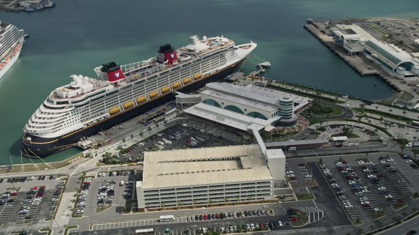 Approaching A Disney And Carnival Cruise Ship Port Canaveral - Cruise ships port canaveral