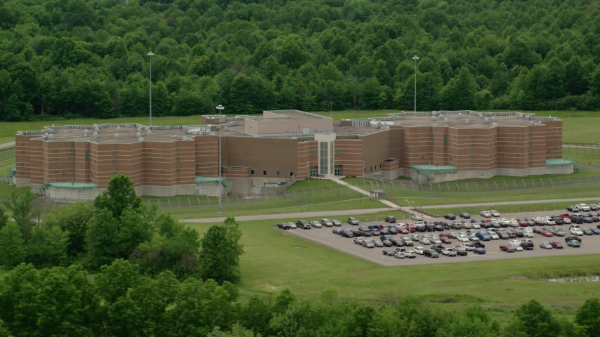 Prisons Aerial Stock Footage