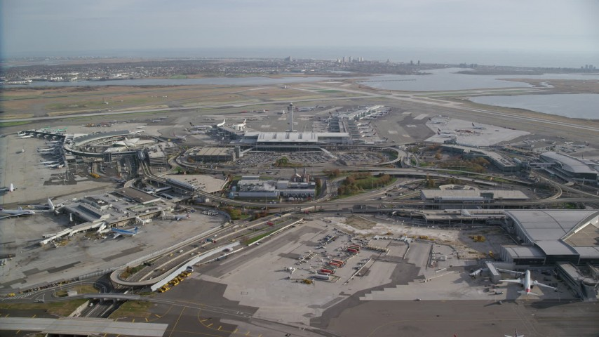 Airports Aerial Stock Footage