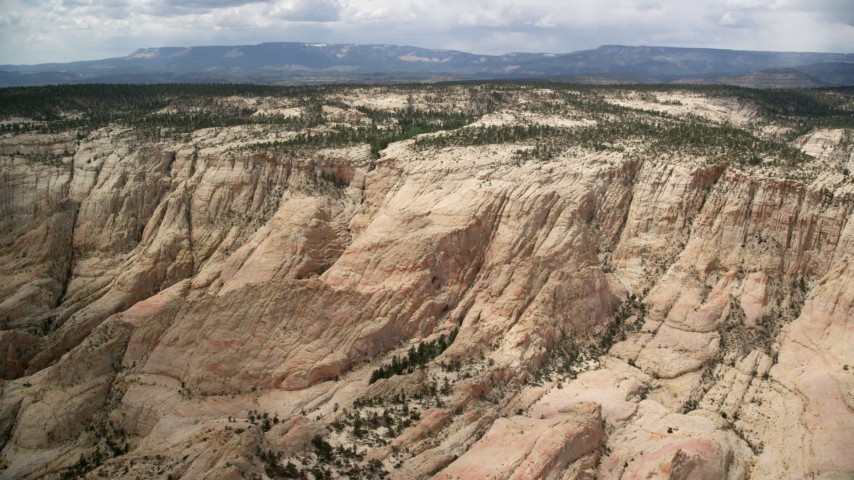 Grand Staircase-Escalante National Monument, UT Aerial Stock Footage