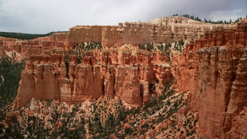Bryce Canyon National Park, UT Aerial Stock Footage
