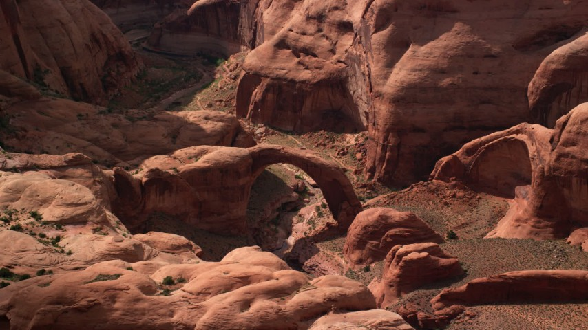 Rainbow Natural Stone : Rainbow bridge the largest stone arch in world is found