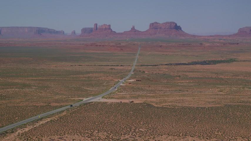 Desert Aerial Stock Footage
