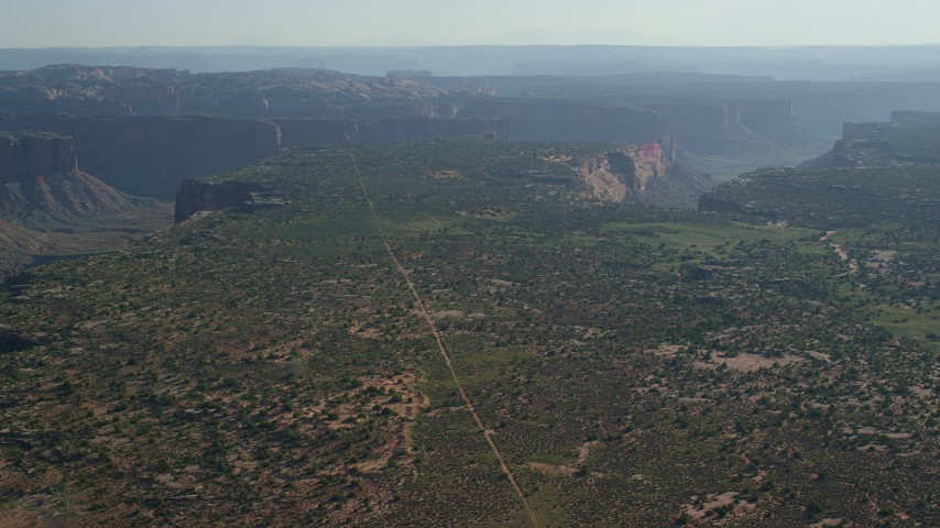 Approach Taylor Canyon In Canyonlands National Park Utah