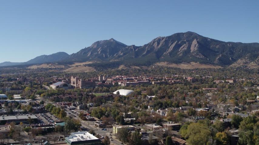 Boulder, CO 6K Aerial Footage
