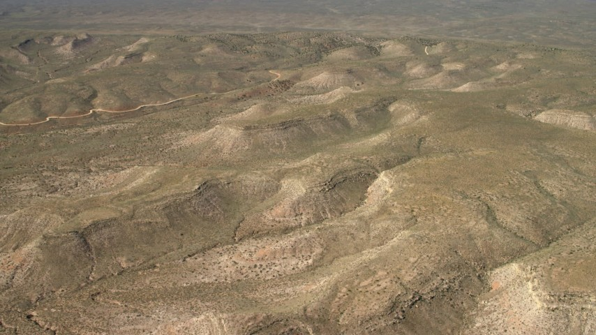 4K stock footage aerial video fly above arid mesas in the Arizona Desert Aerial Stock Footage | FG0001_000236