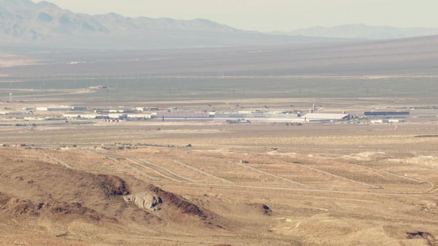 1080 aerial  video of the Las Vegas Motor Speedway in Las Vegas, Nevada Aerial Stock Footage TS02_20 | Axiom Images