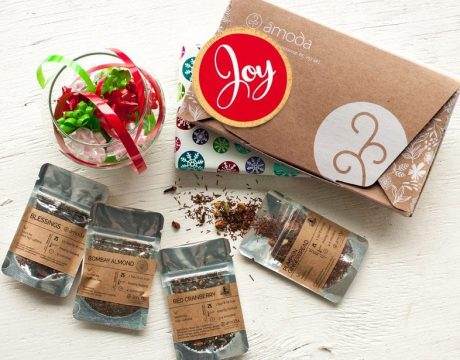 The Amoda Tea Monthly Box is a premium subscription box for tea lovers looking to discover fun flavours, unique pure teas.