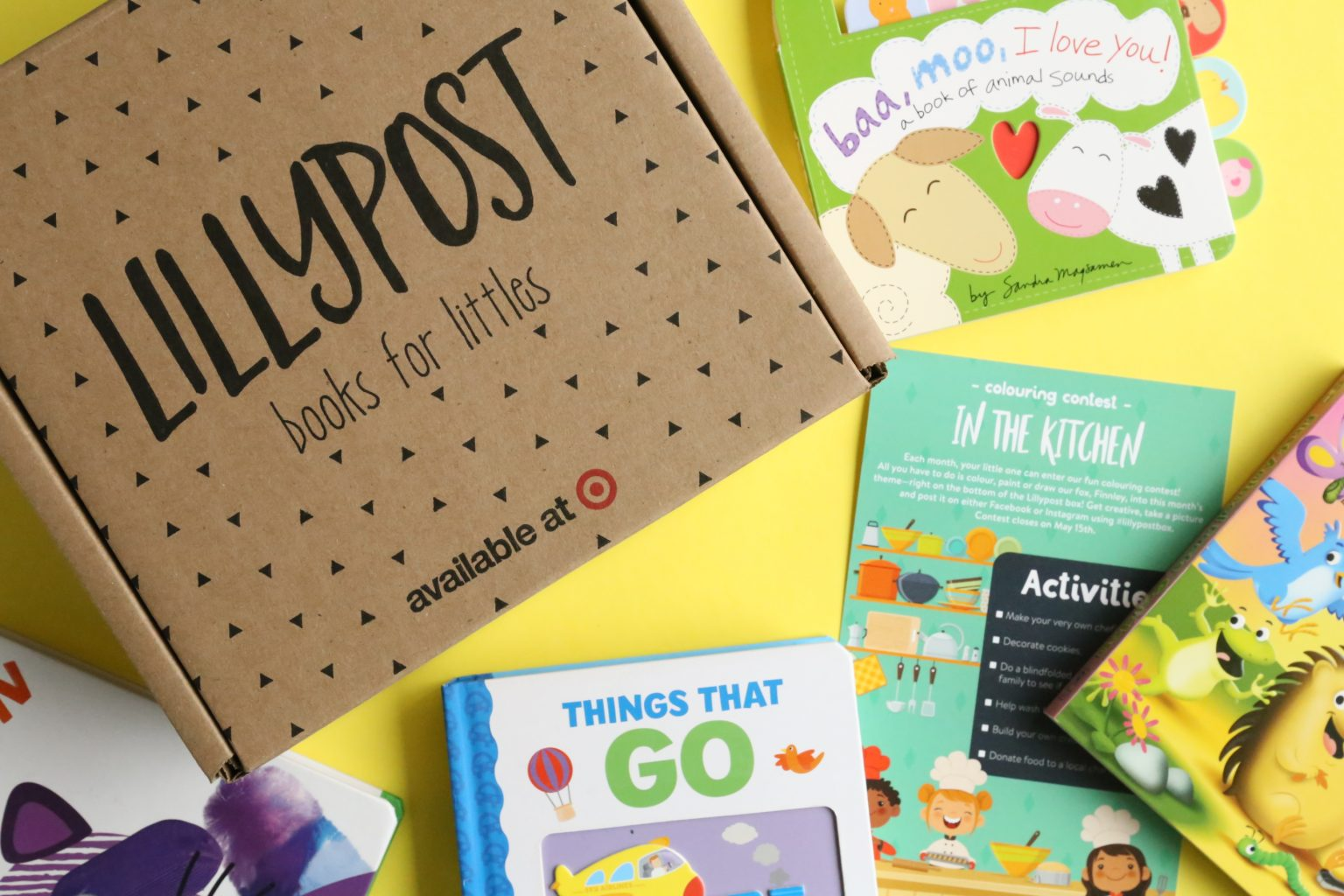 Lillypost Children's Books Subscription from $16.95 per month