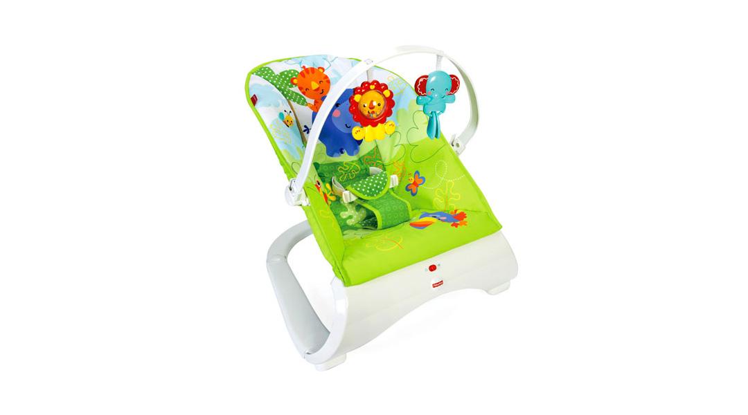342fe6055 Silla mecedora Amigos de la Naturaleza - Fisher Price » Babytuto