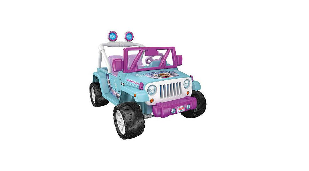 Jeep Wrangler Frozen - Power Wheels (Fisher-Price) » Babytuto