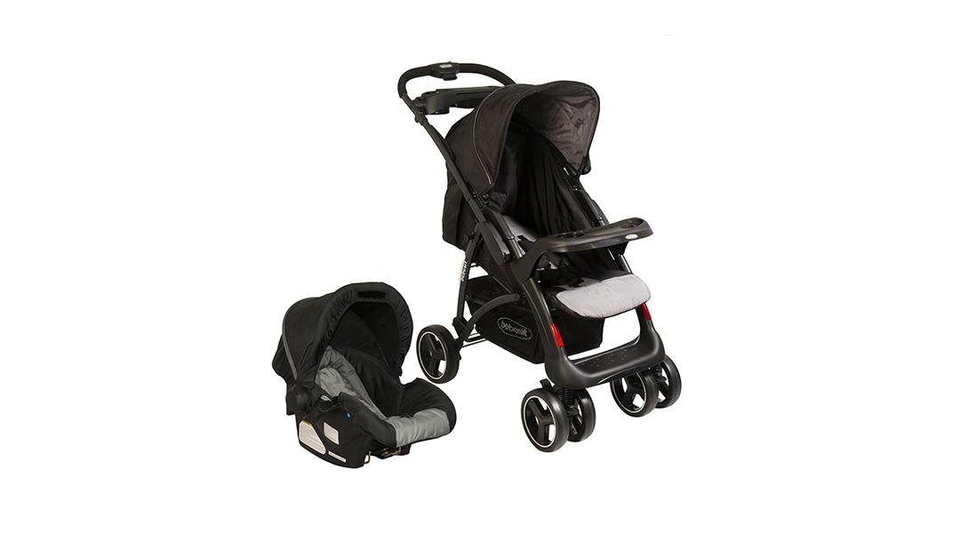 6527f12aa Coche travel system E70 negro y gris - Bebesit » Babytuto