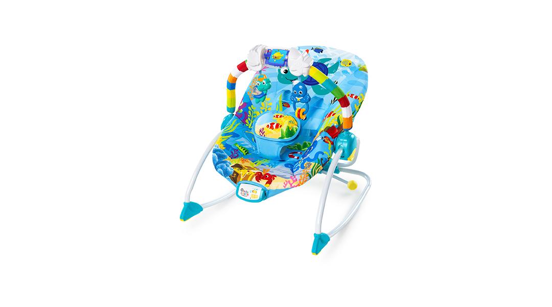 54243804a Silla nido vibradora Adventures Rocker - Baby Einstein » Babytuto