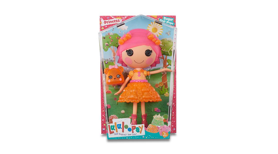 Lalaloopsy gotas princesa azúcar de la fruta naranja - Lalaloopsy ...