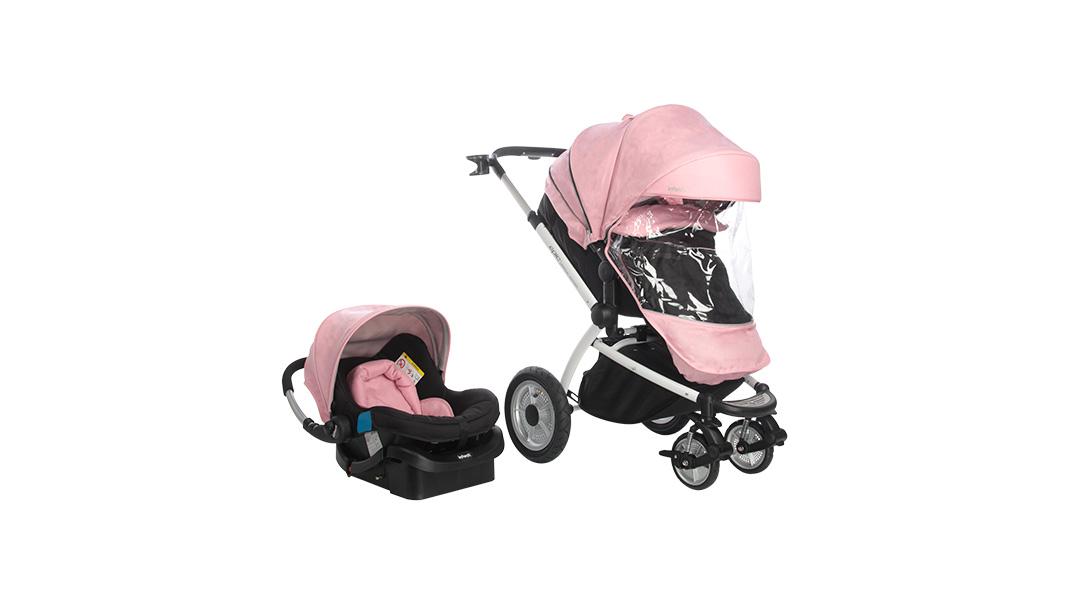 72e69172e Coche travel system Epic 3G edición limitada rosado - Infanti » Babytuto