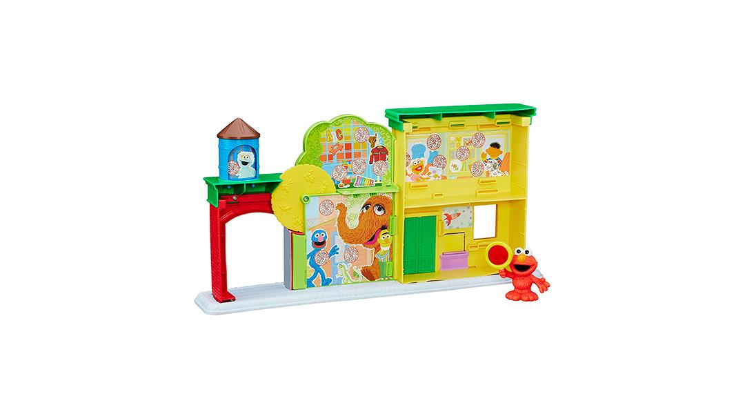 Set Plaza Sésamo Descubre las letras con Elmo - Plaza Sésamo » Babytuto