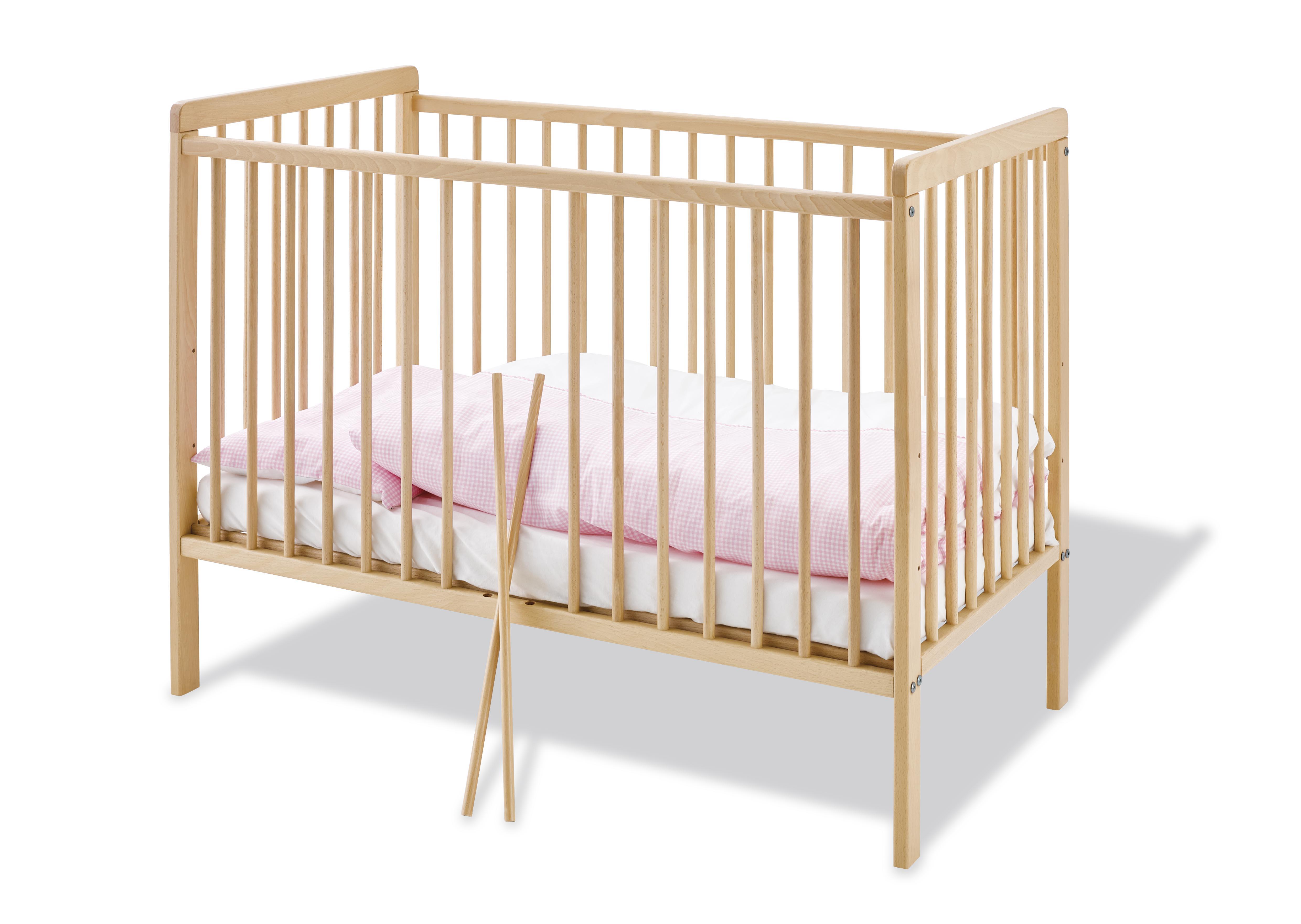 Cuna de madera hanna + colchón - Pinolino » Babytuto