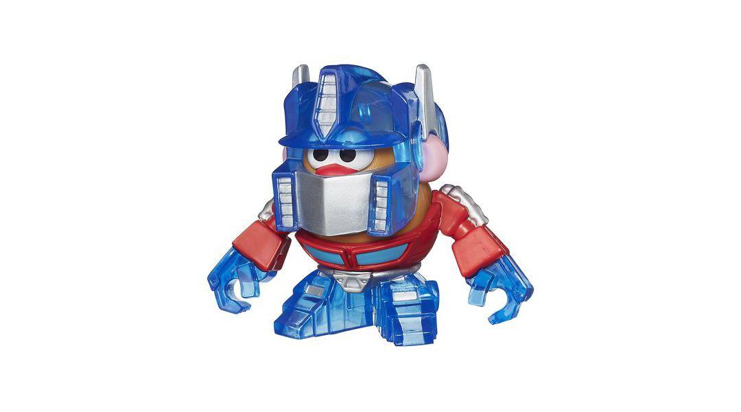 Figuras pequeñas Transformers Optimus Prime - Mr. Potato Head » Babytuto