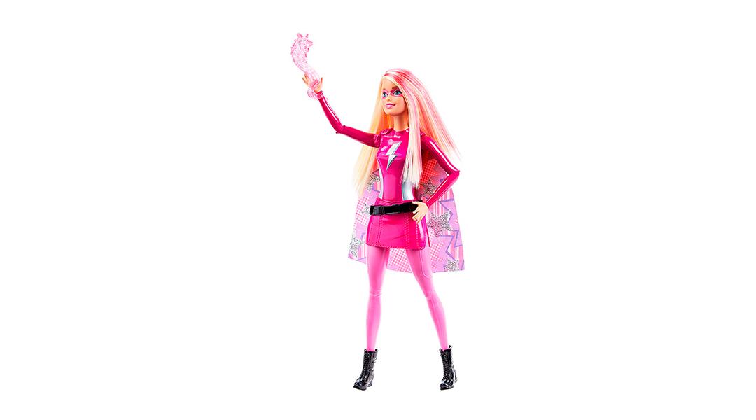 Barbie Súper princesa heroína rosada - Barbie » Babytuto