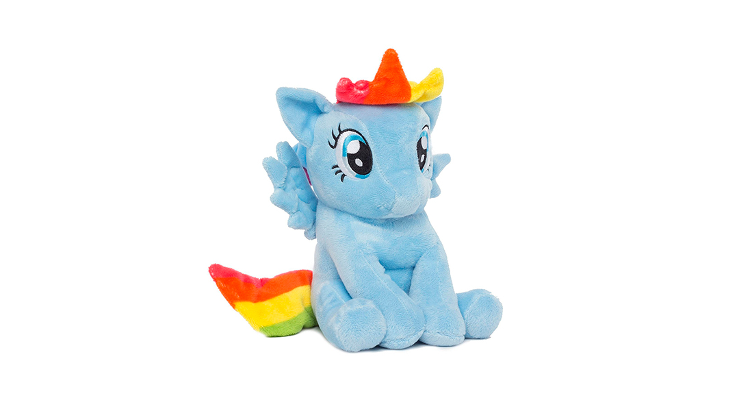 Peluche alcancía My Little Pony Rainbow Dash - My Little Pony » Babytuto