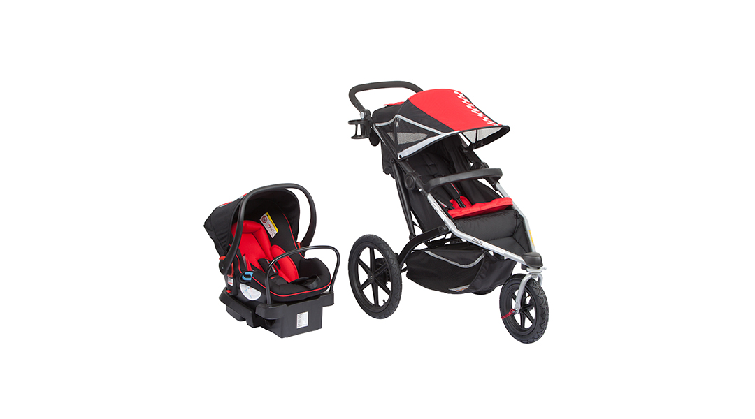 944286877 Coche travel system 4Runner red Infanti - Infanti » Babytuto