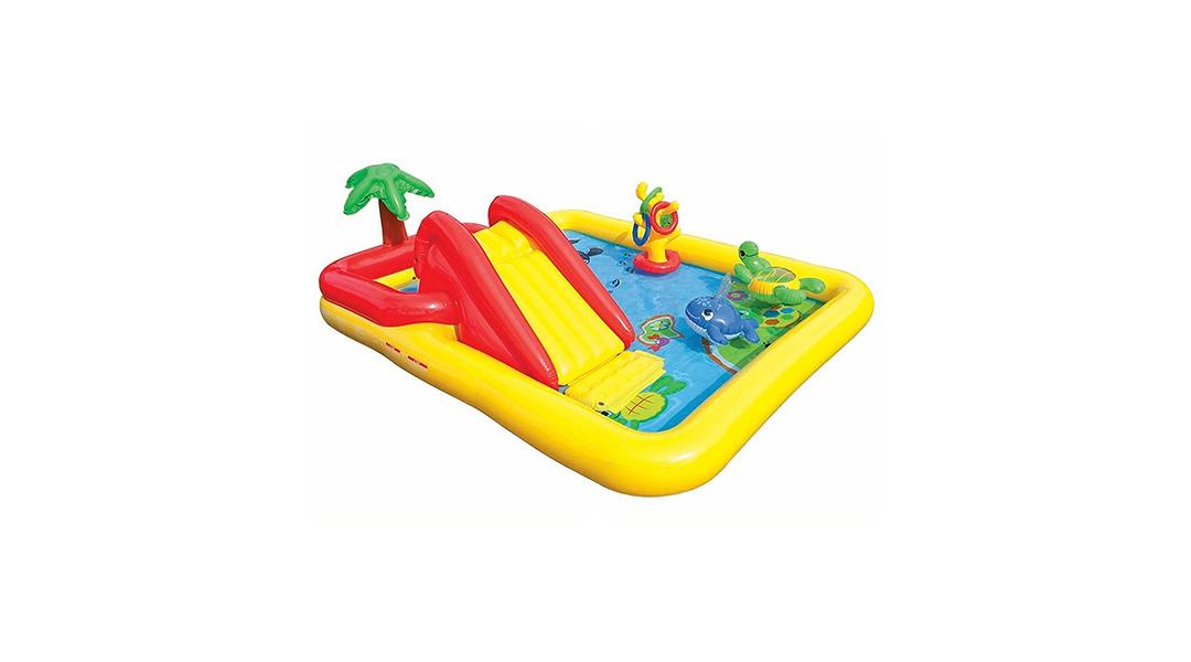 Centro De Juegos Inflable Oceano Intex Intex Babytuto