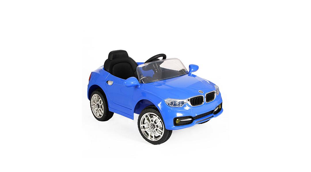 Auto a batería + control remoto RS-5960-1 azul - BEBEGLO » Babytuto