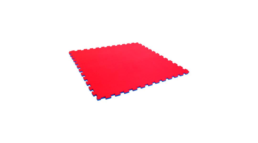 Tatami 2,5cm 1x1m rojo/azul Dactic