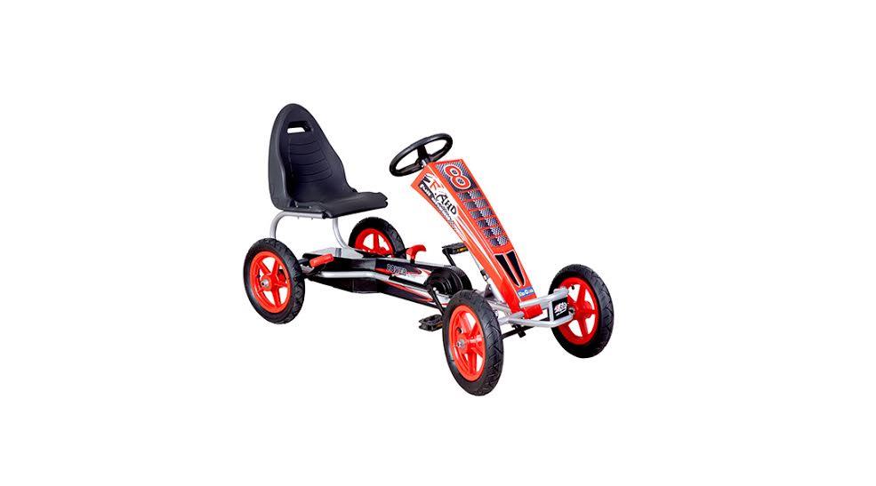 Go kart a pedales grande rojo - Kidscool » Babytuto