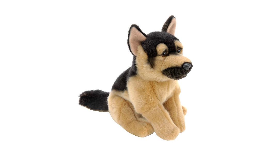 Peluche perrito pastor alemán. 22 cm - Toys R Us » Babytuto