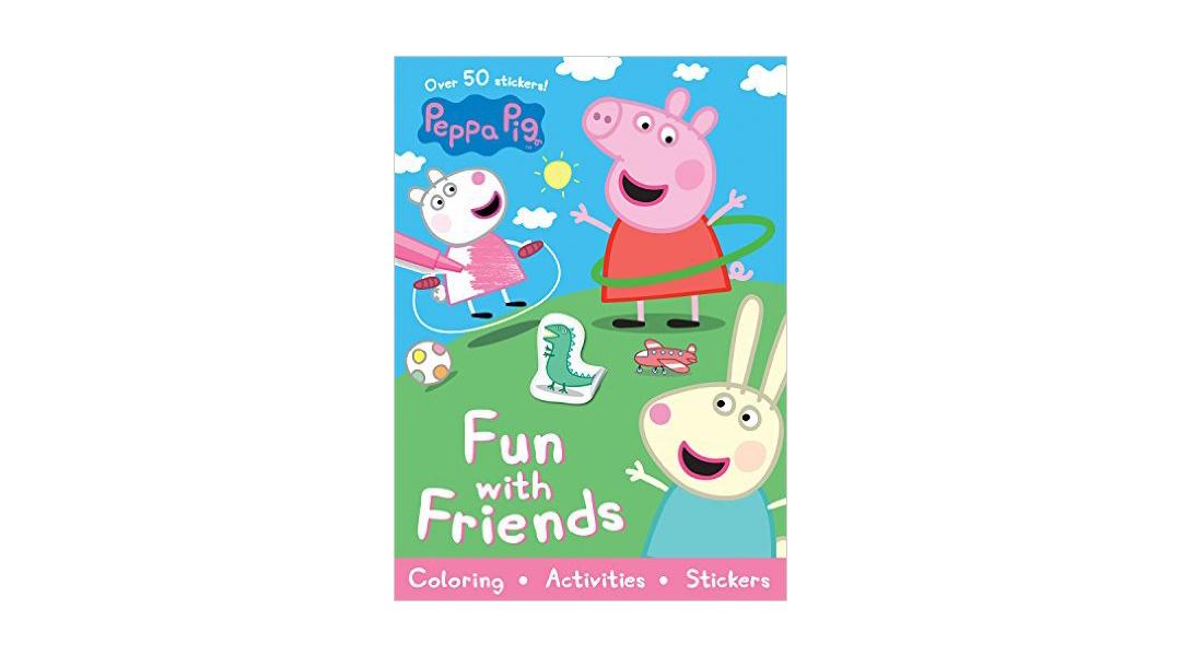Libro para pintar Peppa Pig y amigos - Peppa Pig » Babytuto
