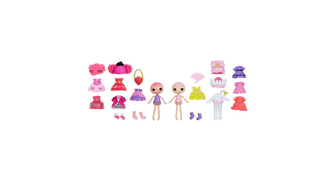 Mini Lalaloopsy princesas - Lalaloopsy » Babytuto